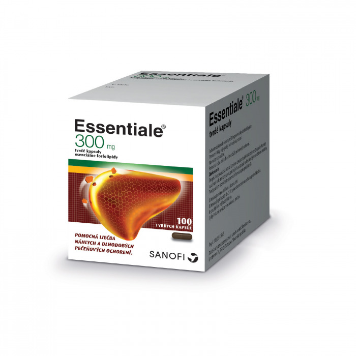 Essentiale® 300 mg, 100 kapsúl