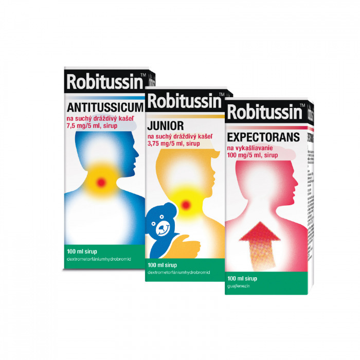Sirupy Robitussin