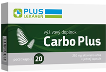 Carbo Plus 250 mg 20 cps